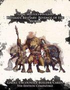 Ultimate Bestiary: Revenge of the Horde - Gnolls Encounter Deck (5E)