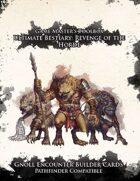 Ultimate Bestiary: Revenge of the Horde - Gnolls Encounter Deck (PF)