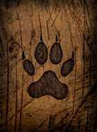 RPS Cards: Wolf's Paw Print