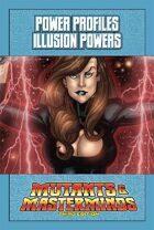 Mutants & Masterminds Power Profile #13: Illusion Powers