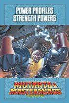 Mutants & Masterminds Power Profile #22: Strength Powers