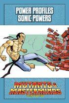 Mutants & Masterminds Power Profile #28: Sonic Powers