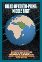 Mutants & Masterminds Atlas of Earth-Prime: Middle East
