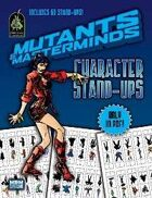 Mutants & Masterminds Character Stand-Ups