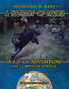 Adventures in Aldea: A Harvest of Masks
