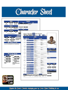 Sword Chronicle Character Sheet