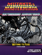 Astonishing Adventures: Nothing To Fear