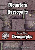 Heroic Maps - Geomorphs: Mountain Necropolis