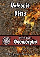 Heroic Maps - Geomorphs: Volcanic Rifts