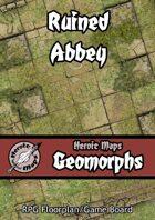 Heroic Maps - Geomorphs: Ruined Abbey