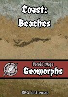 Heroic Maps - Geomorphs: Coast - Beaches