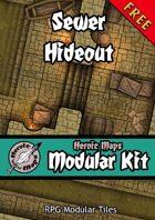 Heroic Maps - Modular Kit: Sewer Hideout