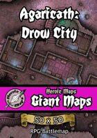 Heroic Maps - Giant Maps: Agaricath Drow City