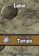 Heroic Maps - Terrain: Lunar