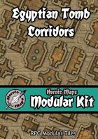 Heroic Maps - Modular Kit: Egyptian Tomb Corridors