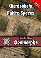 Heroic Maps: Wardenhale Public Spaces