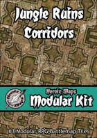 Heroic Maps - Modular Kit: Jungle Ruins Corridors