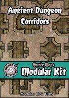 Heroic Maps - Modular Kit: Ancient Dungeon Corridors