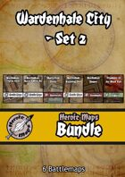 Heroic Maps - Wardenhale City Set 2 [BUNDLE]