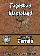 Heroic Maps - Terrain: Tagoskan Wasteland