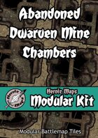 Heroic Maps - Modular Kit: Abandoned Dwarven Mine Chambers