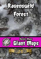 Heroic Maps - Giant Maps: Ravenswild Forest