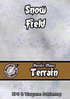 Heroic Maps - Terrain: Snow Field