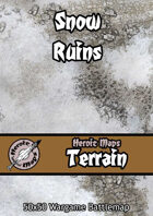 Heroic Maps - Terrain: Snow Ruins