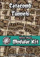 Heroic Maps - Modular Kit: Catacomb Tunnels
