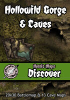 Heroic Maps - Discover: Hollowild Gorge & Caves