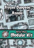 Heroic Maps - Modular Kit: Frozen Dungeon Rooms