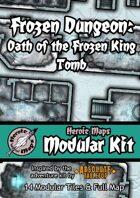 Heroic Maps - Modular Kit: Frozen Dungeon Oath of the Frozen King Tomb