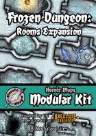 Heroic Maps - Modular Kit: Frozen Dungeon Rooms Expansion