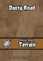 Heroic Maps - Terrain: Dusty Road