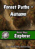 Heroic Maps - Explorer: Forest Paths Autumn