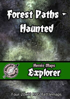 Heroic Maps - Explorer: Forest Paths Haunted