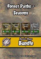 Heroic Maps - Forest Paths Seasons [BUNDLE]
