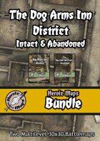 Heroic Maps - Dog Arms Inn District: Intact & Abandoned [BUNDLE]