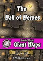Heroic Maps - Giant Maps: The Hall of Heroes