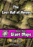Heroic Maps - Giant Maps: The Lost Hall of Heroes