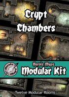 Heroic Maps - Modular Kit: Crypt Chambers