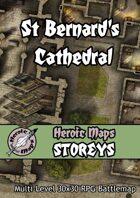 Heroic Maps - Storeys: St Bernard's Cathedral