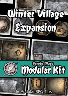 Heroic Maps - Modular Kit: Winter Village Expansion