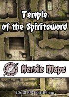 Heroic Maps - Temple of the Spiritsword