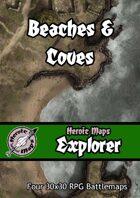 Heroic Maps - Explorer: Beaches & Coves