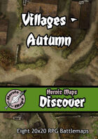 Heroic Maps - Discover: Villages - Autumn