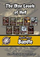 Heroic Maps - The Nine Levels of Hell [BUNDLE]