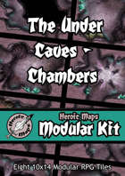 Heroic Maps - Modular Kit: The Under Caves - Chambers