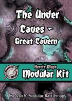 Heroic Maps - Modular Kit: The Under Caves - Great Cavern