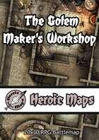 Heroic Maps - The Golem Maker's Workshop
